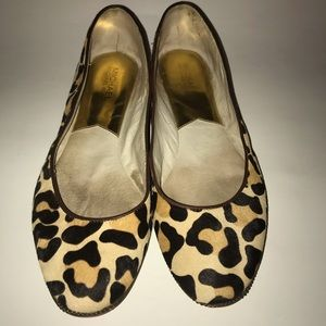 Michael Kors Animal Print Flats 9.5